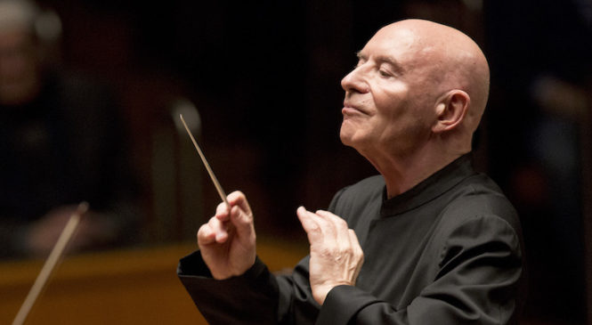 Old and Lost Rivers, Tobias Picker — Christoph Eschenbach