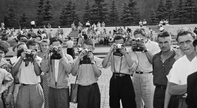 Москва 1957 года в фотографиях Л. Джанадды. 16.08.2017 – 02.10.2017