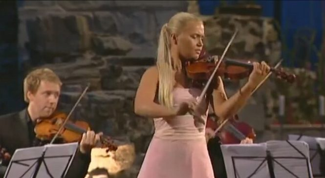 "Mari Samuelsen, Antonio Vivaldi – ""Summer"" from four seasons"