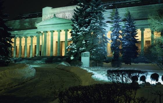 Импрессионисты против передвижников! до 25 февраля 2018 в Пушкинском музее на Волхонке выставка