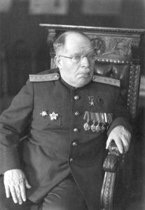 (Фото 3). Н.Н.Бурденко в конце войны