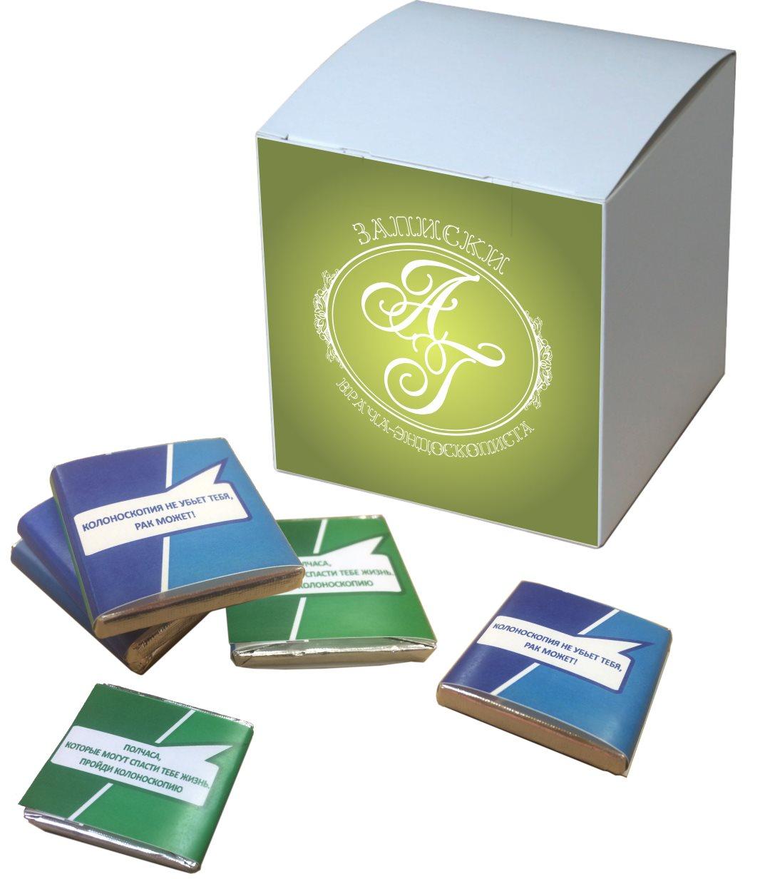 шоколадки с коробкой